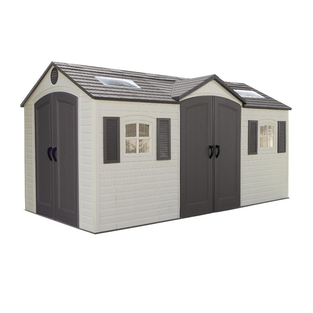 plastic sheds metal garden sheds steel reinforced upvc